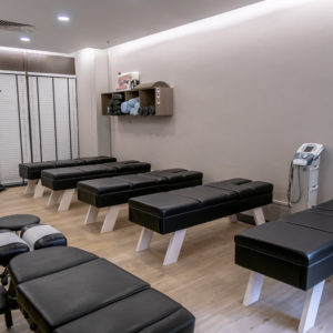 Healing Hands Chiropractic Singapore City Hall Treatment Area 1